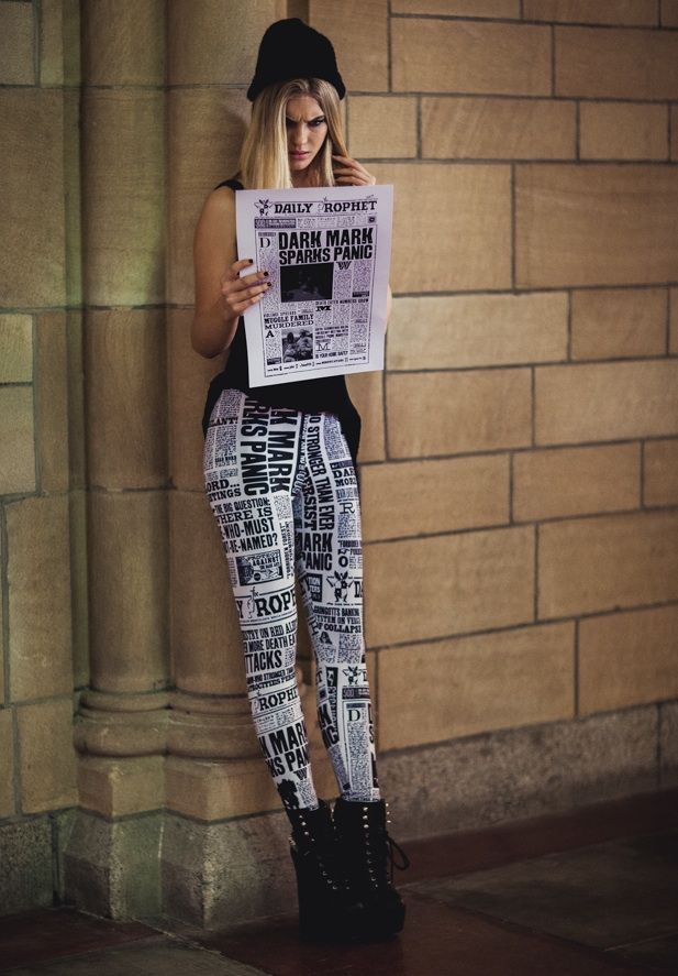 The Daily Dot - Black Milk's 'Harry Potter' fashion line: Shut up and accio my money