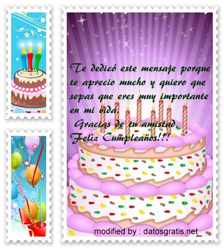 17 Best ideas about Tarjeta Feliz Cumpleaños Prima on Pinterest Felicitaciones para una prima