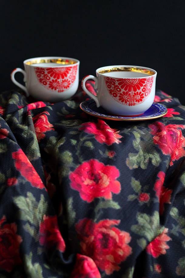 Floral Patterns Inspiration Karavan Clothing AW2015-2016 blog.karavanclothing.com #karavanclothing #karavan