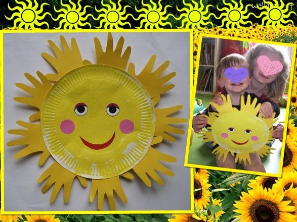 soleil: je garde l'idée mais le rendu est trop naif à mon gout: je mixe avec les 2 autres soleils en peinture
