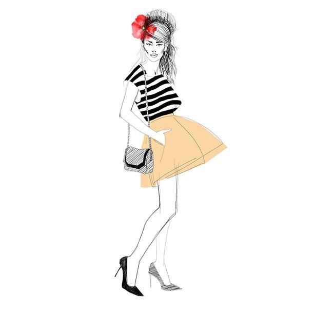 fashion illustration https://www.instagram.com/nataliamogilat/