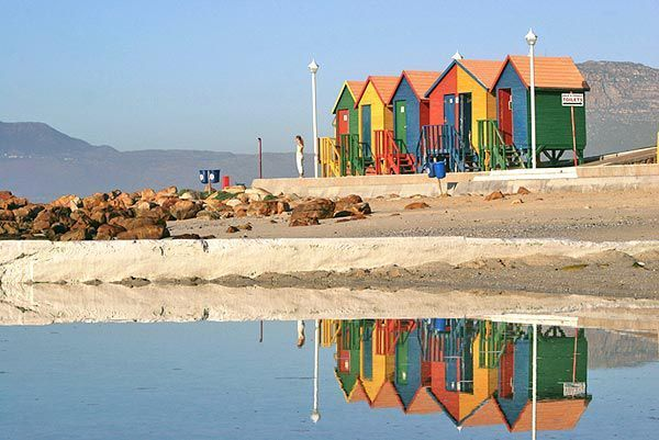 Self catering accommodation, St James, Cape Town   Beautiful beach within walking distance from The Villa