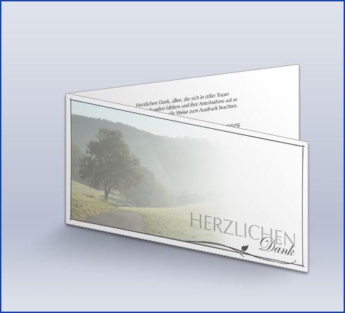 Danksagung Trauer Baum Im Morgenlichtab 51 Stück1,47 €