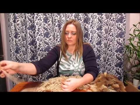 Как работать с кудрями для валяния - YouTube
