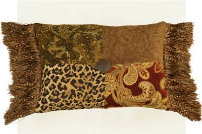 Luxury Pillows and Valance Royal Bedding