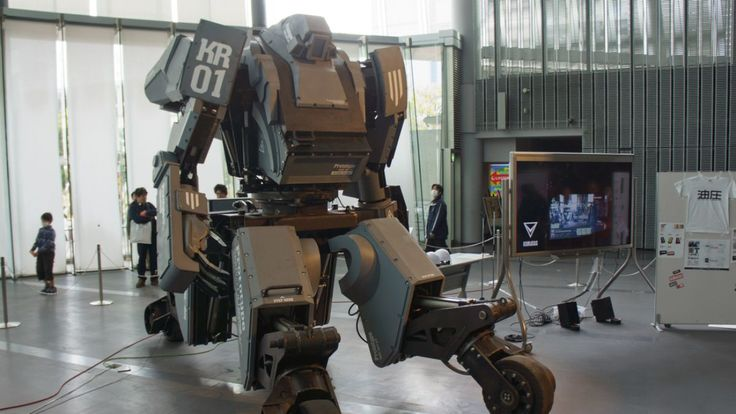 There's a functional $1 million mech robot for sale on Amazon