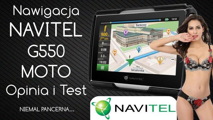 Nawigacja Navitel G550 Moto - Opinia i Test