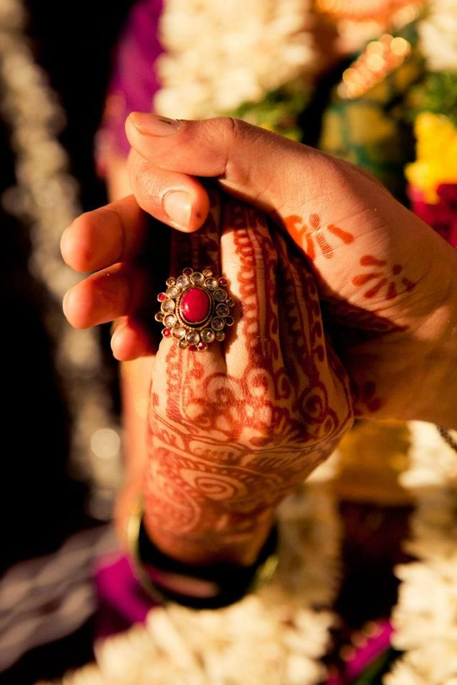 see how the groom holds his bride by the hand #indian #wedding #rituals