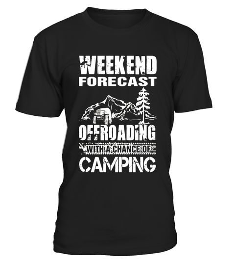 weekend camping shirt - Limited Edition