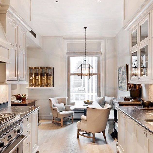 Modern Cozy Kitchen Dining Kitchen Inspirations Kitchen Sitting Areas Home Kitchens