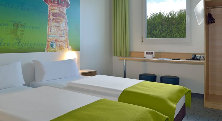 Zweibettzimmer im B&B Hotel Köln-Frechen