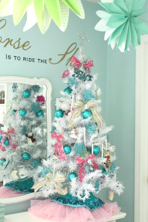 red white blue christmas tree CRISTMAS Pinterest Christmas