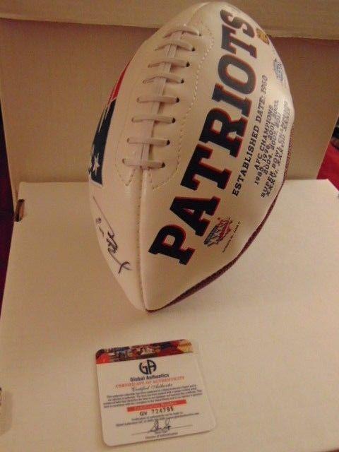 TOM BRADY Autographed Football Authentic GA Certified w/Holo & COA Tom Brady #NewEnglandPatriots