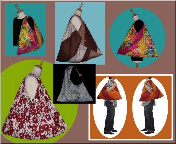 Azuma Bukuro.Le sac japonais. Tuto PDF : Patrons par izabelle