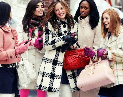 Winter Gossip Girl style!