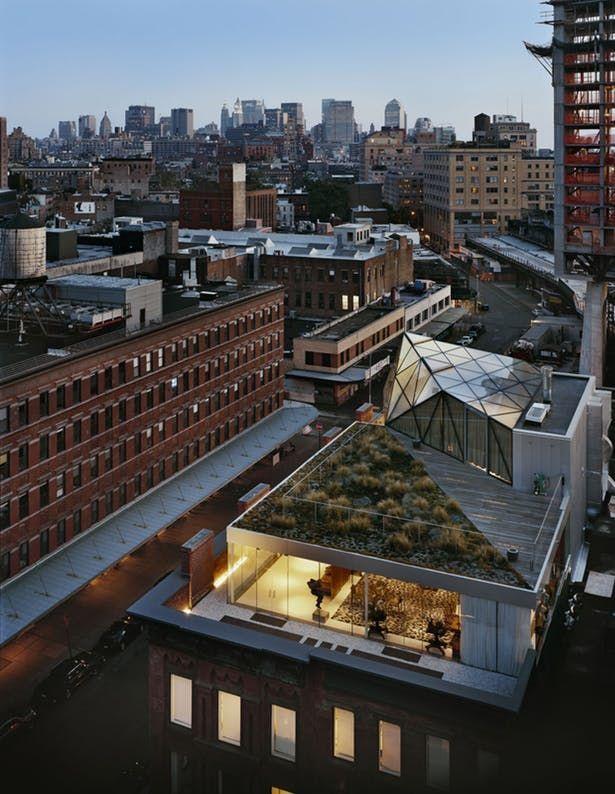 Diane Von Furstenberg Hq Architecture Pent House