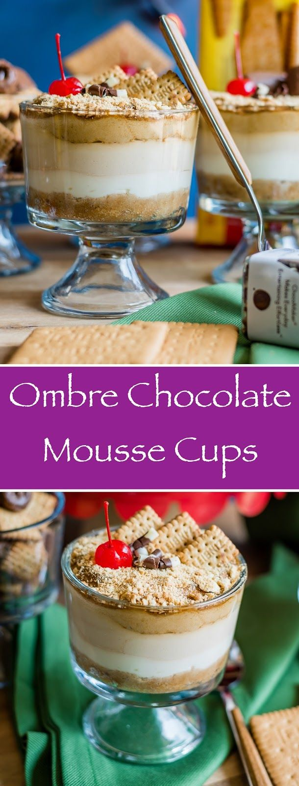 Herbivore Cucina: Ombre Chocolate Mousse Cups...Try this Ombré Chocolate Mousse recipe. Made using @bahlsen biscuits and few other ingredients, these dessert bowls are so easy to make, your kids can help in too. EGGLESS, NO COOK and NO BAKE, these should be on your Holiday Menu!! @worldmarket #ad #worldmarket #holidaygetaway #bahlsen #costplusworldmarket #eeeeeats #foodgasm #foodgawker #tasteandtell #herbivorecucina #ontheblog #epicurious #thekitchn #hautecuisines #gloobyfood #f52grams…