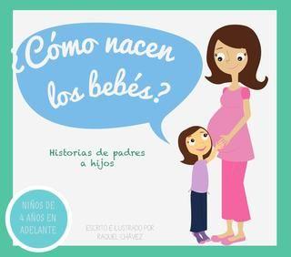 Libro infantil_Cómo nacen los bebés  Prototipo de libro para niños
