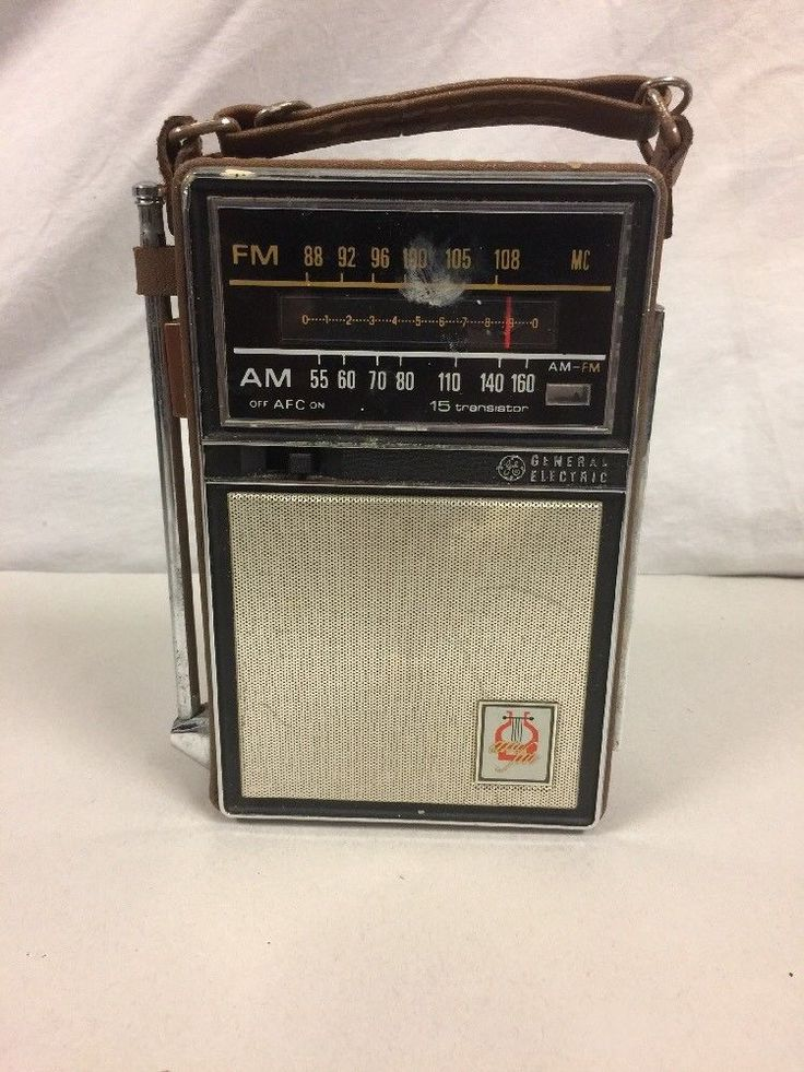 General Electric GE Vintage 15 Transistor Radio   | eBay
