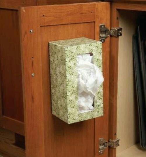 Хранение пакетов и не только. Картонная коробка