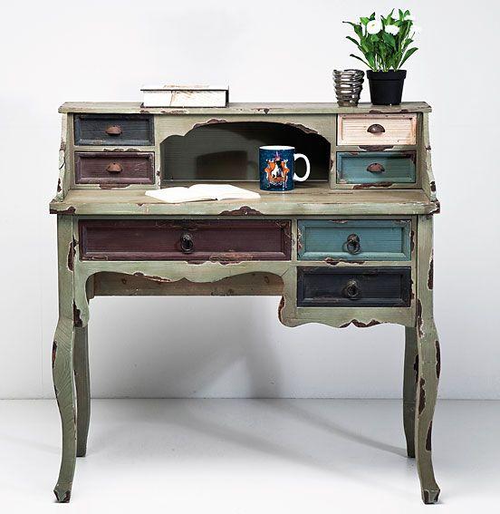 Mesa de Escritorio Vintage Casolare   Material: Madera de Abeto   ... Eur:425 / $565.25