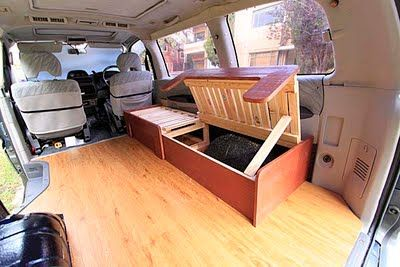 We're all used to seeing classic campervans  on the road--usually in neutral colours with spacious interiors meant for discoveries and great...