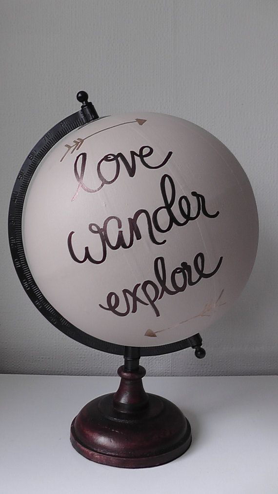 Hey, I found this really awesome Etsy listing at https://www.etsy.com/listing/230456272/hand-painted-globe