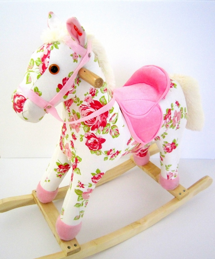 Shabby Rocking horse- I haven't found a current supplier- for inspiration