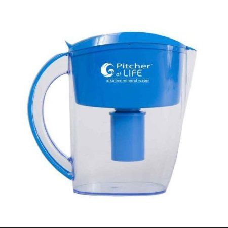 Pitcher of Life Alkaline Water Pitcher (2nd Generation), Blue