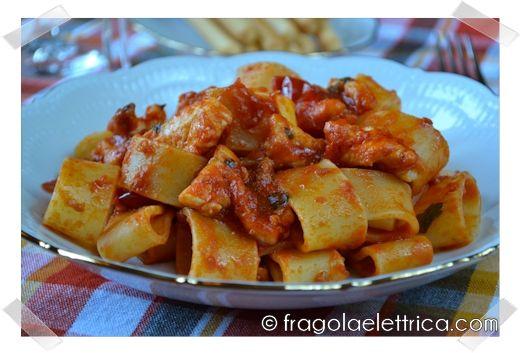 PASTA CON GALLINELLA DI MARE fragolaelettrica.com Le ricette di Ennio Zaccariello #Ricetta