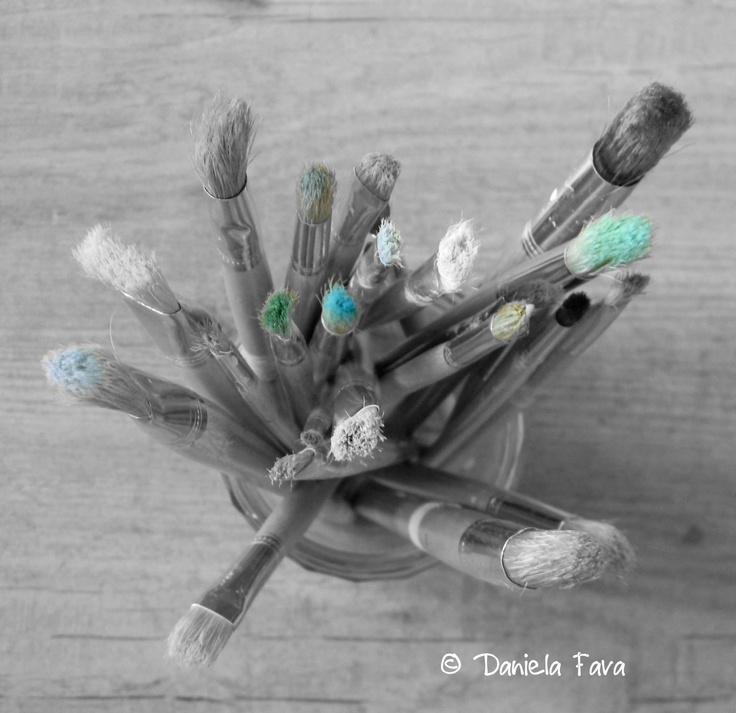 La pittura è poesia silenziosa...