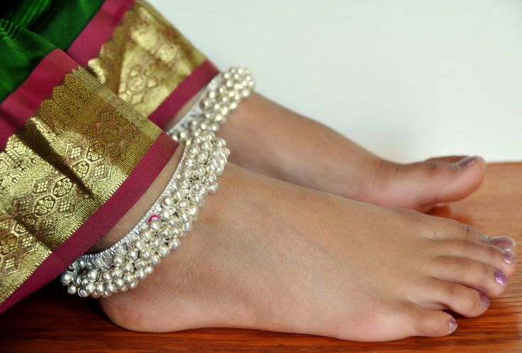 Salangai Or Ghunghru Anklet Worn Traditionally By