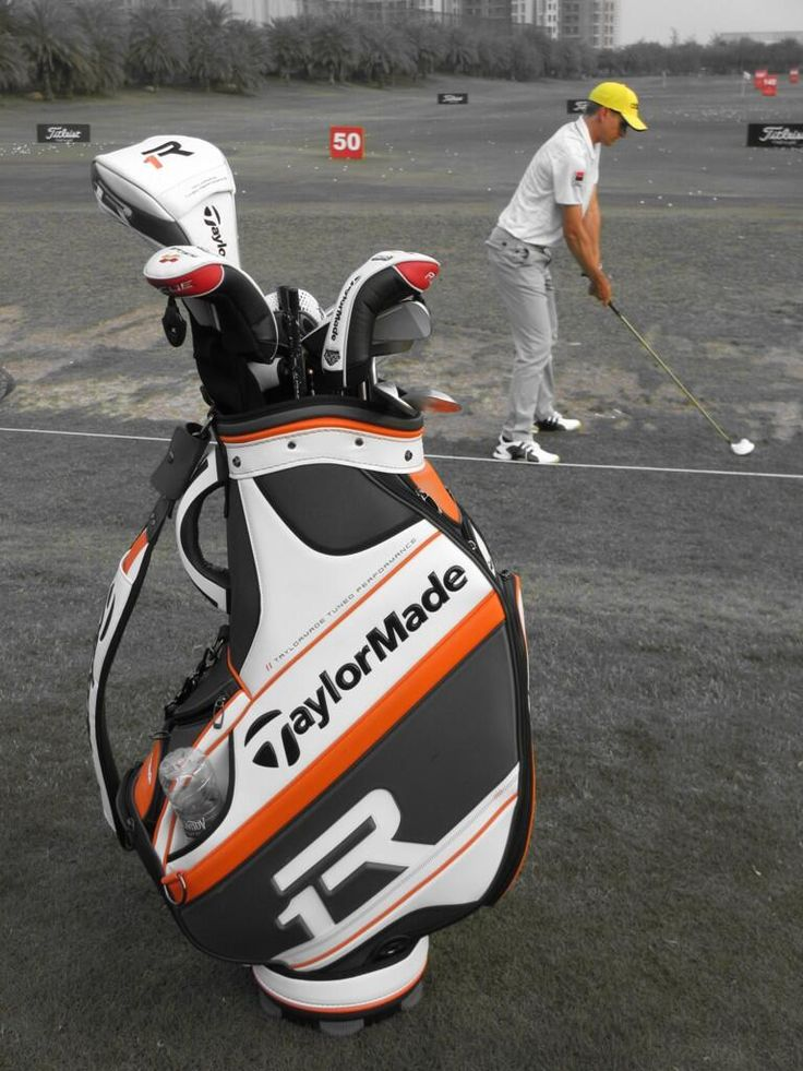 Now that is a golf bag...