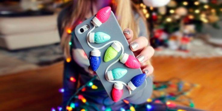 Prendas navideñas que tu celular desea usar