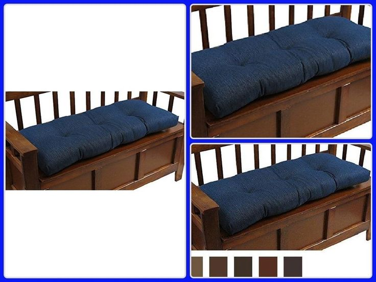Indoor Bench Cushion 36In Non Slip Universal Thick Soft Pillow Pad Home Decor #cushion
