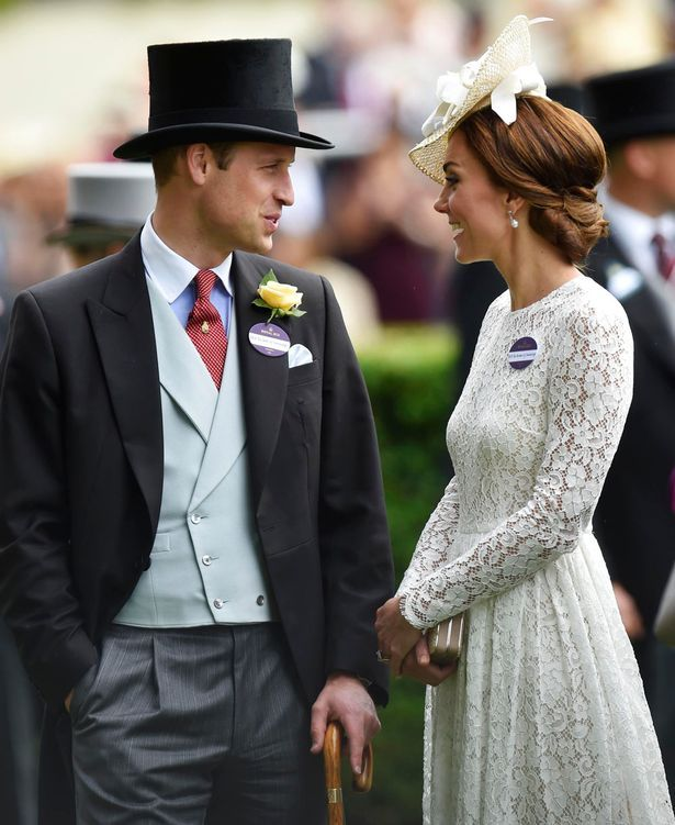 The Duchess joined Prince William for the first time at Royal Ascot