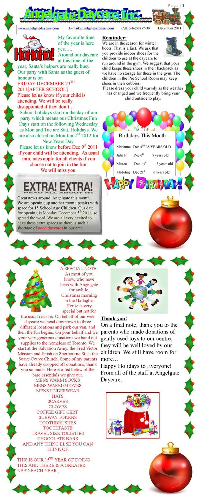 childcare newsletter templates - 66 best images about daycare forms assessment on