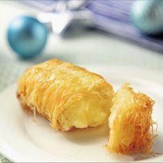 Καταΐφι µε κρέµα αμυγδάλου/ Kataeef pastry dough with almond custard