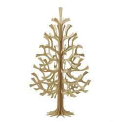 Give your holidays a little Scandinavian flare. Lovi Christmas Trees are handmade of sustainable birch plywood in Finland and can be decorated with your favorite holiday ornaments. Easily breaks down and can be stored flat until it is needed once again the following year. Instructions included - no tools required.