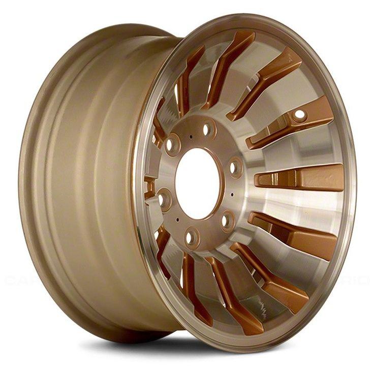 15 remanufactured 12 slots gold factory alloy wheel