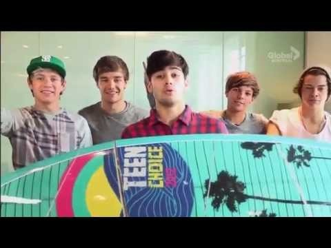 Hahahahahahaha(: I watched the whole dang boring award show just to see this. And yes, it was worth it. I was laughing so hard I was crying. They're amazing(: