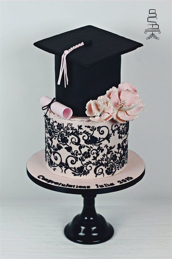 Sophiascakeboutique On Twitter Graduation Party Cake Graduation Cakes Graduation Dinner