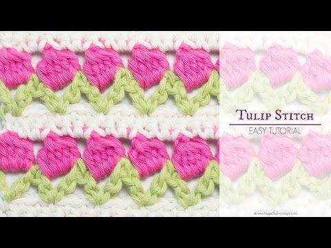 Hopeful Honey | Craft, Crochet, Create: How To: Crochet The Tulip Stitch - Easy Tutorial
