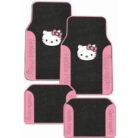 Hello Kitty Sanrio Pink Front & Rear Carpet Auto Car Truck SUV Mats $39.95: Hellokittymats Carmats, Kitty Sanrio, Rear Carpet, Carpet Auto, Pink Front, Hello Kitty, Sanrio Pink