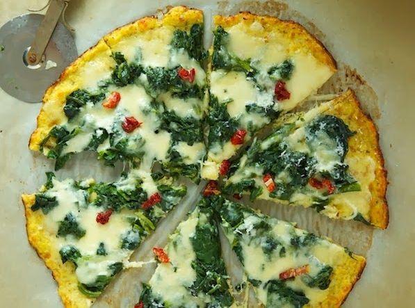 zdrave cesto na pizzu z karfiolu