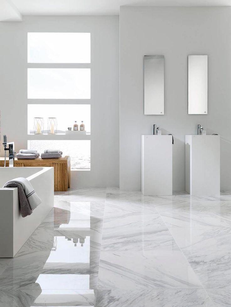Tendenze nell'interior design 2015: eleganza classica con pavimenti e rivestimenti in #marmo