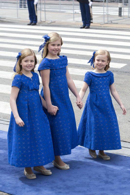 Amalia, Alexia en Ariane