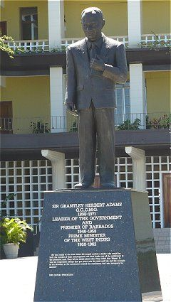 One of Barbados' ten national heroes Sir Grantley Adams was a great social reformer who fought tirelessly for the rights of Barbadians, especially the under-privileged.