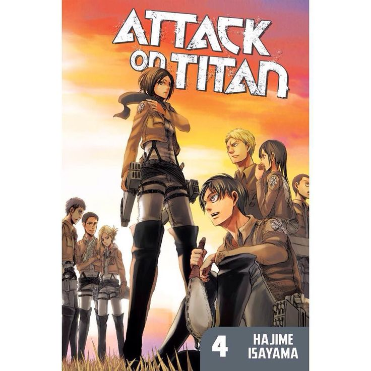 Attack On Titan Vol. 4: HUMANITY PUSHES BACK! ? The Survey