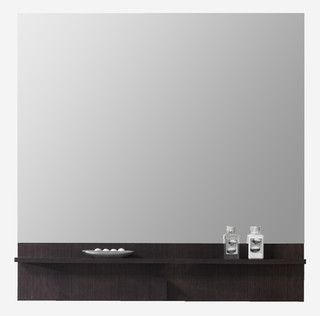 Fantastic Chrome Plated Miami Mirror  Contemporary  Bathroom Mirrors  By
